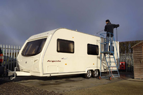 Secure caravan, motorhome and boat storage, Essex