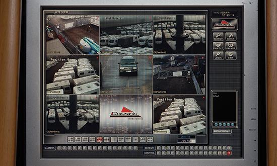 Multiple CCTV 24/7 coverage